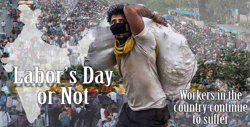 Workers Lockdown India Labour Day