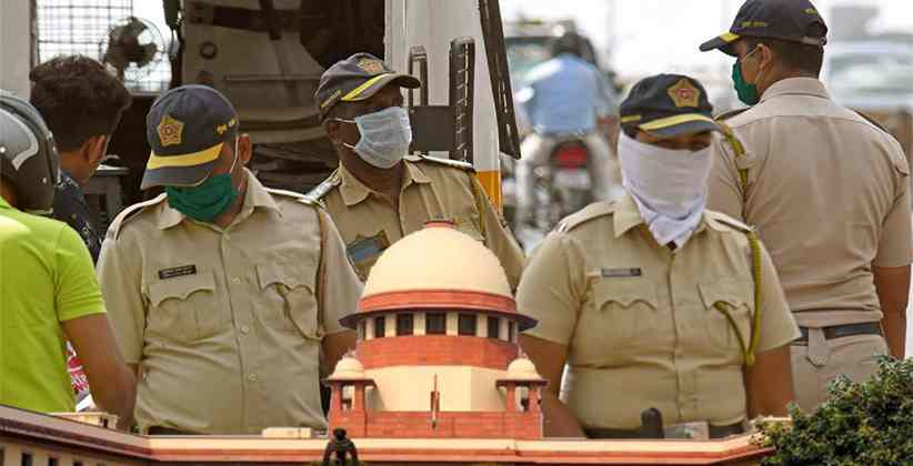 SC Refuses to Entertain Plea to Withdraw Policy Cuts for Cops