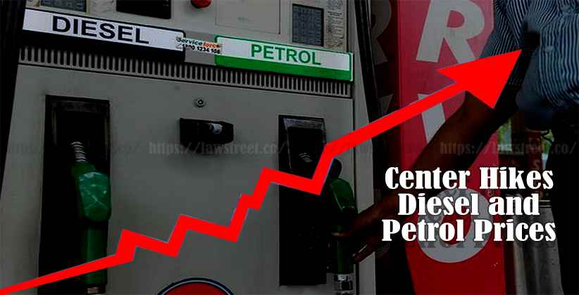Center Hikes Diesel and Petrol Prices in the Wake of COVID-19
