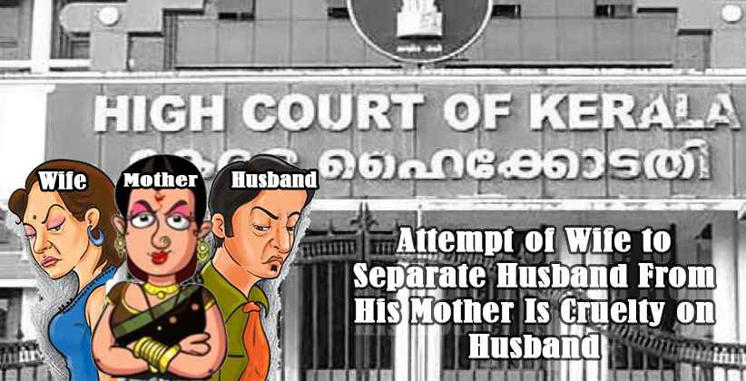 Attempt of Wife to Separate Husband From…