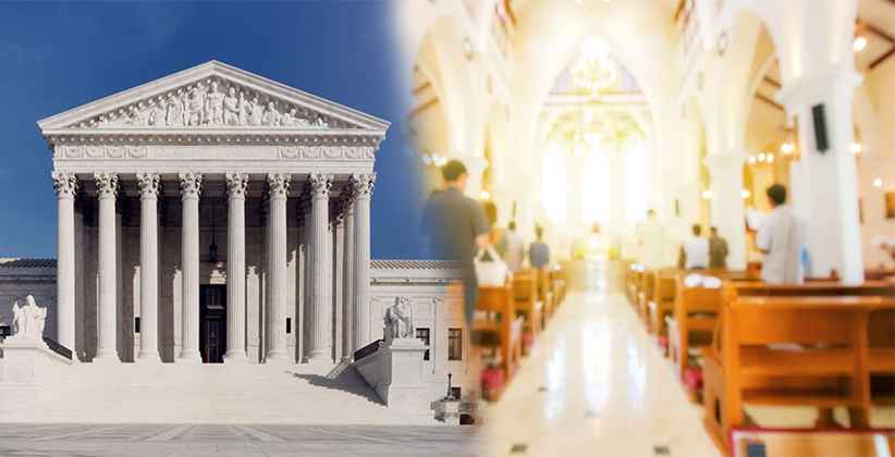 US Supreme Court Church Services and Gatherings COVID19