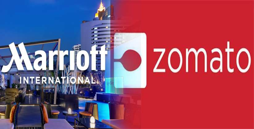 Marriott International Partners with Zomato For Food Delivery