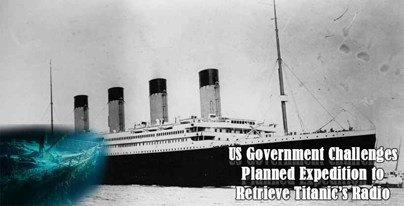 US Government Expedition to Retrieve Titanic Radio