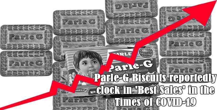 Parle-G Biscuits reportedly clock in 'Best Sales' in the Times of COVID-19