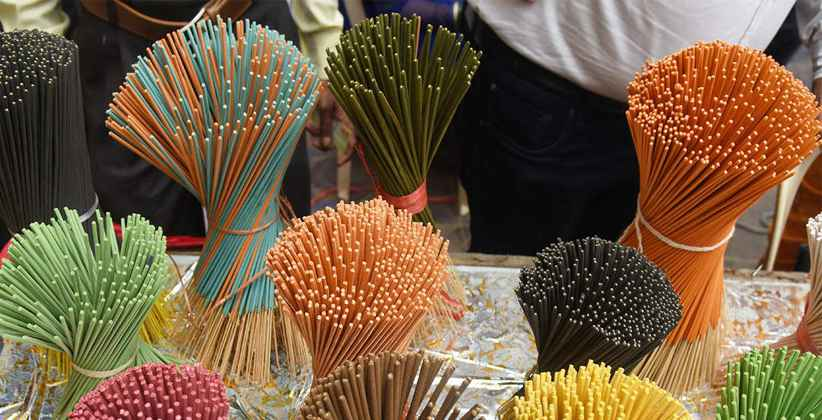 Government in Huddle as Fragrance Of Chinese Agarbattis Spreads Far And Wide