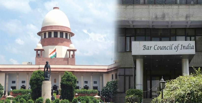 Supreme Court upholds the decision of Bar Council of India alleging professional misconduct by a lawyer