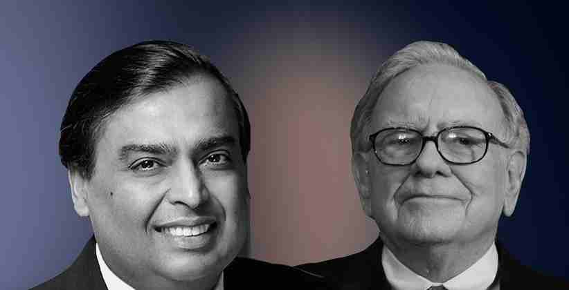Mukesh Ambani overtakes Warren Buffet and Sergey Brin in terms of Net-Worth, Becomes 5th richest person in the world