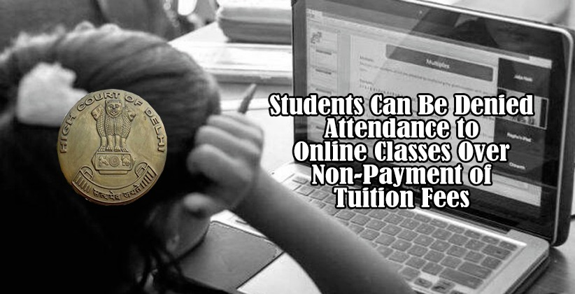 Students Can Be Denied Attendance to Online…