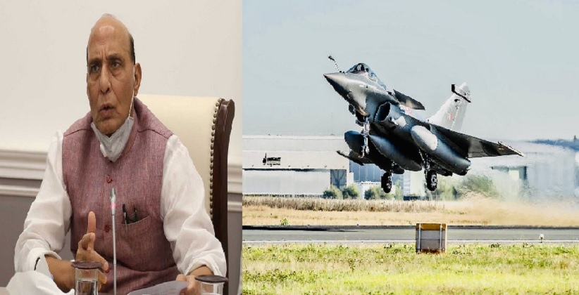 Touchdown of Rafale Combat Aircrafts Mark the Beginning Of A New Era In Indian Military History: Defence Minister Rajnath Singh