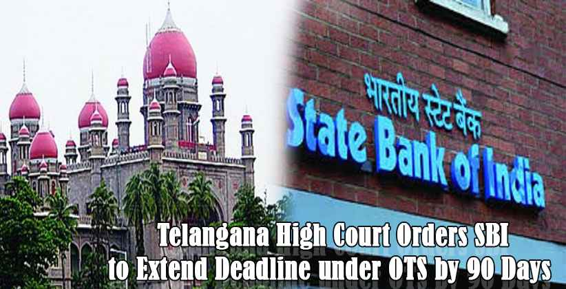 TelanganaHC Orders SBI State Bank of India