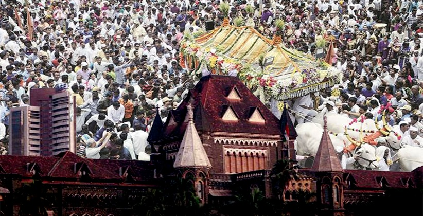 Bombay HC Refuses Permission for Religious Procession in Plea requesting participation of 100 members in a six-kilometer march carrying Sant Dyaneshwar'sPalkhi bearing Padukas