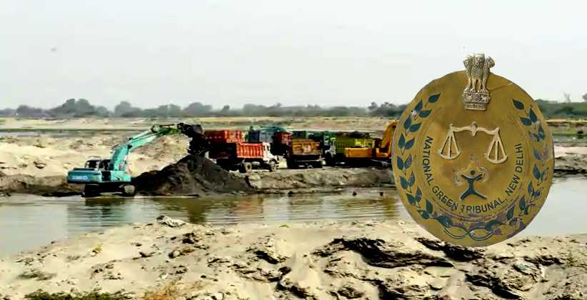NGT sand mining Yamuna river in UP