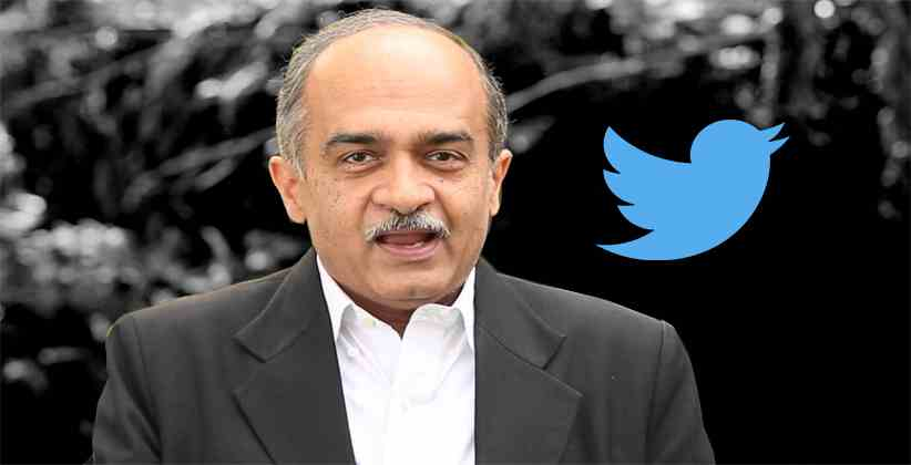 Suo Moto Contempt Case Registered by the Supreme Court against Prashant Bhushan and Twitter India