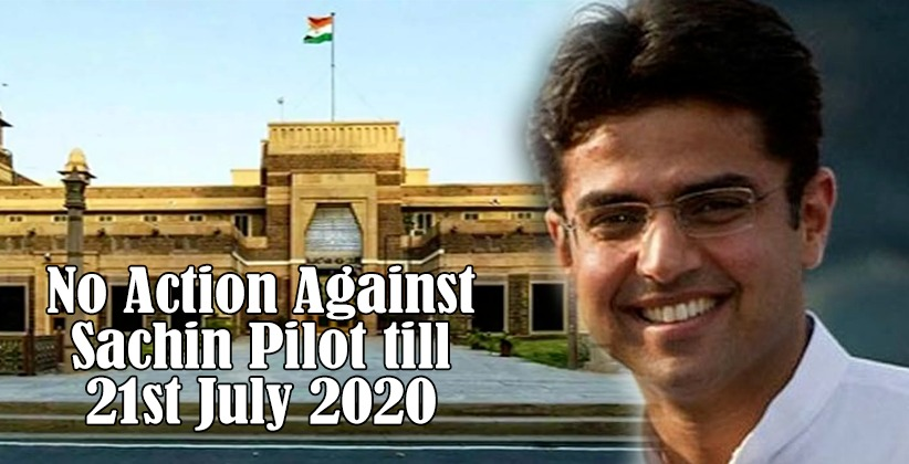 Rajasthan High Court to hear the amended plea filed by Sachin pilot on July 17th