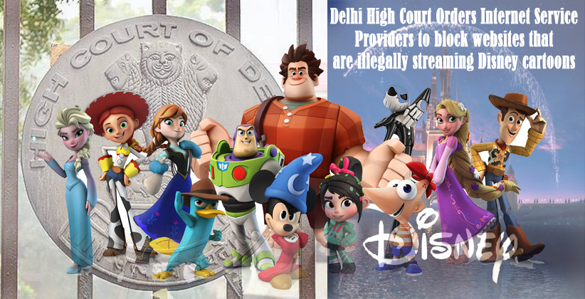 Delhi High Court Disney cartoons