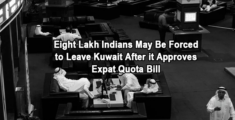 Eight Lakh Indians May Be Forced to Leave Kuwait After it Approves Expat Quota Bill