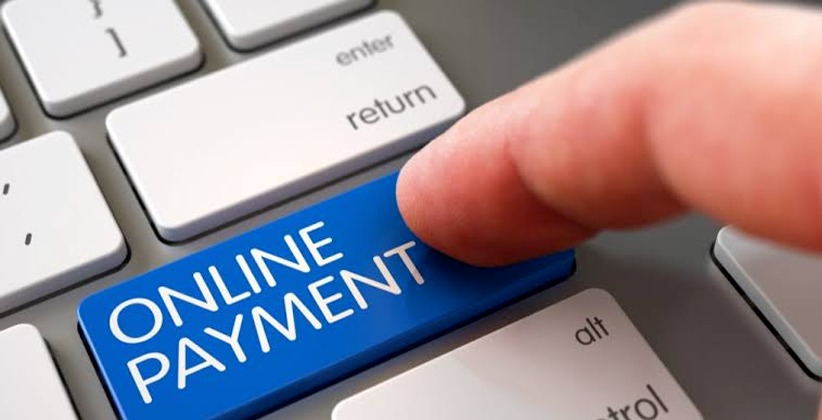 Online payments return to pre- COVID- 19…