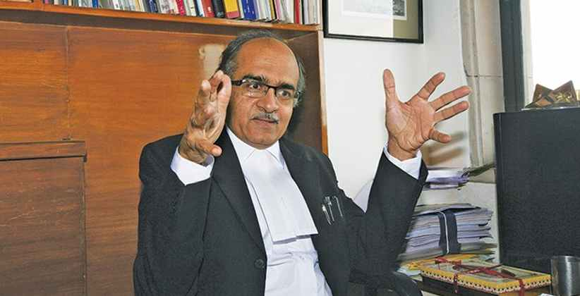 SC Serves Notice to Advocate Prashant Bhushan Over Contemptuous Tweets Against The CJI, Judiciary