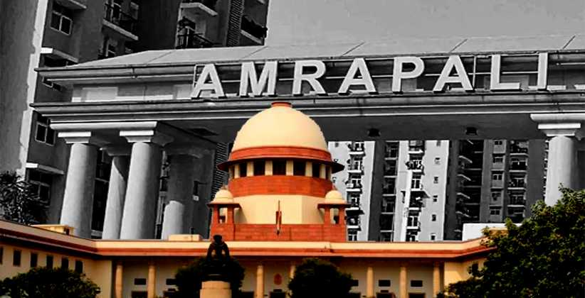SC Asks Centre To Arrange Funds for Stalled Amrapali Projects