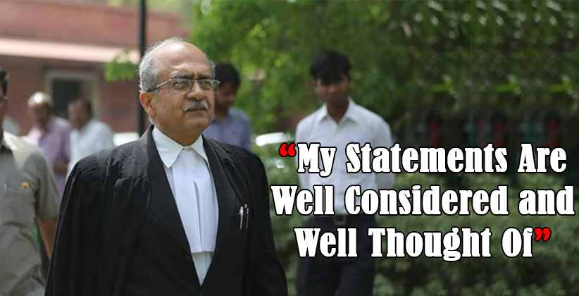 Prashant Bhushan Declines SC Offer