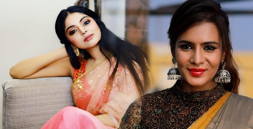 ACTRESS SANAM SHETTY OF BIG BOSS FAME SENDS LEGAL NOTICE TO MEERA MITHUN FOR SPREADING FALSE RUMORS AGAINST HER