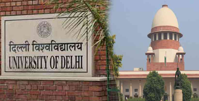 Supreme Court of India Delhi University Law Student