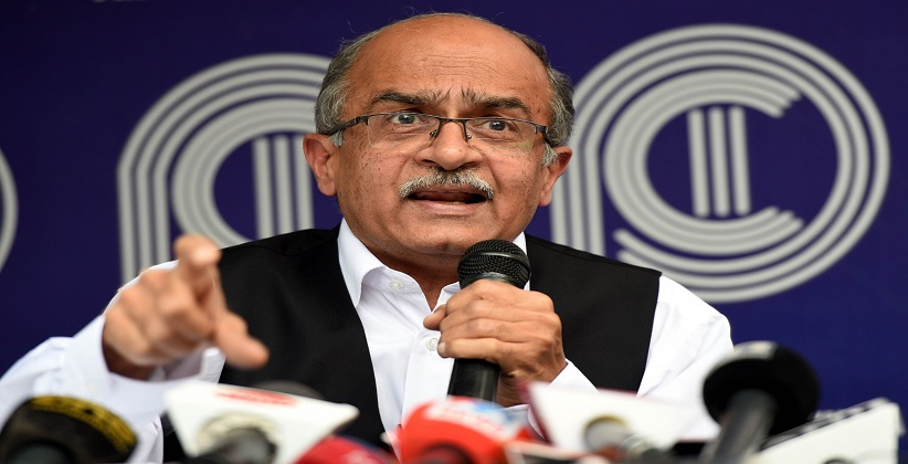 Mediation application seeking for video recording and live broadcast of the Prashant Bhushan contempt of court case filed in the SC
