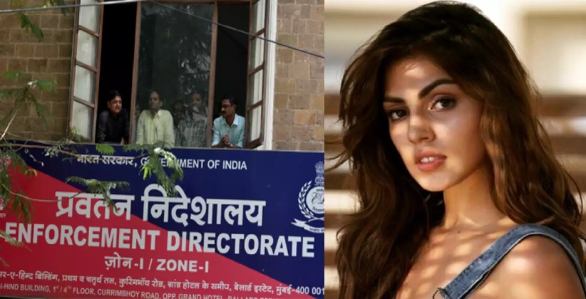 ED files money laundering case Against Rhea Chakraborty in connection with Sushant Singh Rajput death
