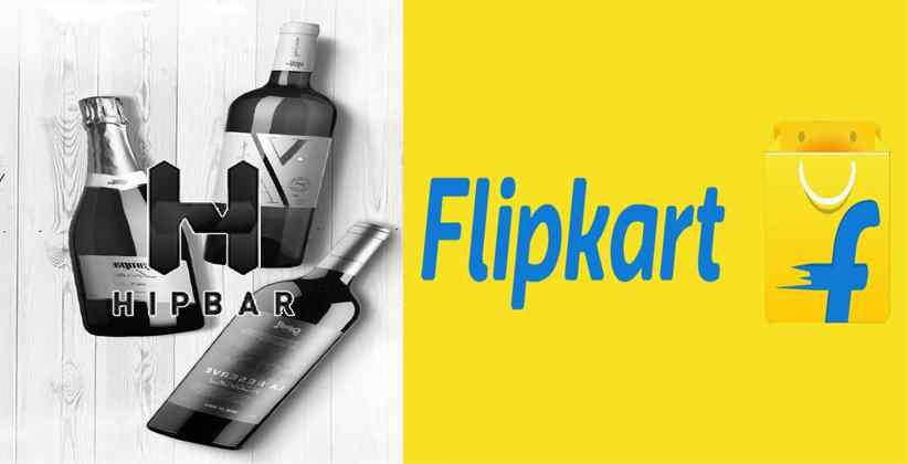 Flipkart HipBar deliver alcohol West Bengal Odisha