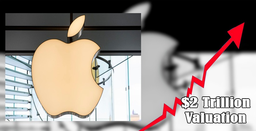 Apple Becomes First U.S. Company to Hit $2 Trillion Valuation Amid the Global Pandemic