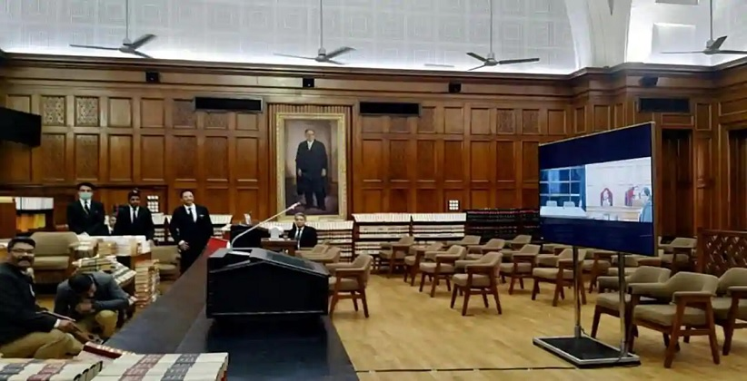 SC Completes 100 Days of Hearing Cases Via Video Conferencing, over 1500 Cases Heard