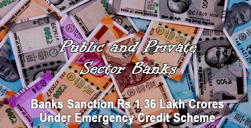 CARE Ratings: Banks sanction Rs 1.36 lakh crores under emergency credit scheme