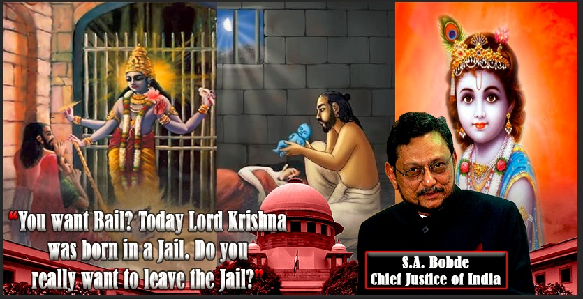 'Krishna Was Born In Jail Today, You Want Bail?' - CJI To Convict