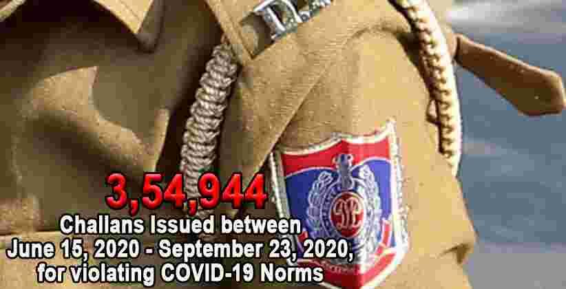 Delhi Police Covid19 Norms