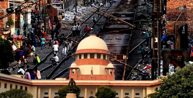 No Immediate Demolition of Slums Near Delhi Tracks till Urban Affairs Ministry Takes a Decision: Centre Tells SC