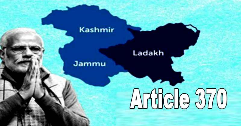 Revocation Article370 Jammu Kashmir