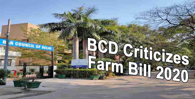 BCD Farm Bill Prime Minister