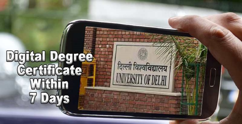 DU To Issue Digital Degree Certificate Within 7 Days: Delhi High Court