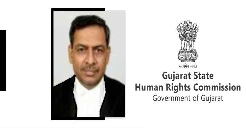 Justice RR Tripathi appointed as Chairperson of Gujarat Human Rights Commission