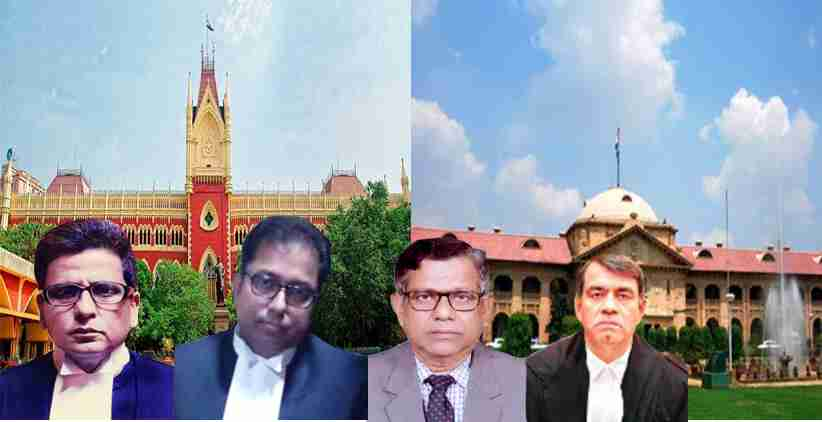 Five Additional Judges of Calcutta HC and one Additional Judge of Allahabad HC Made Permanent
