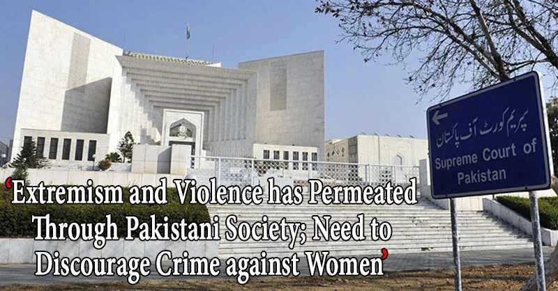 Crime Against Woman Pakistan