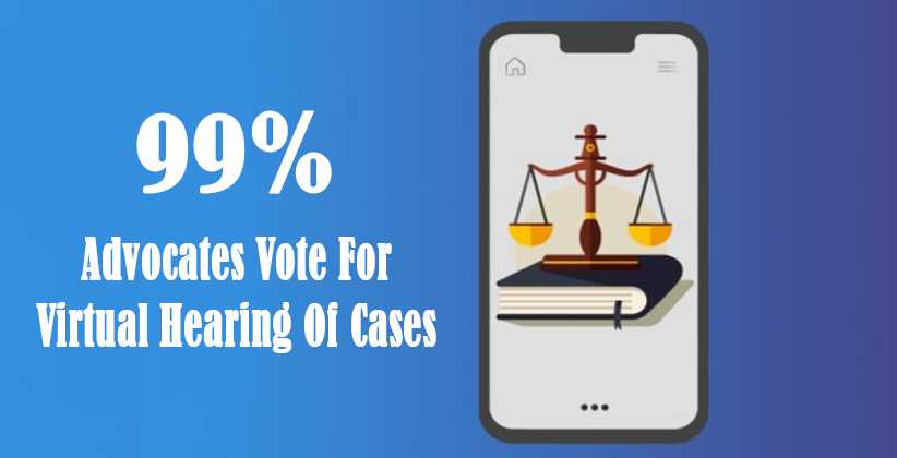 Virtual Hearing Of Cases
