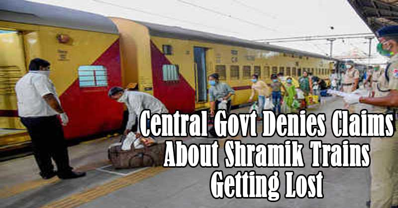 Central Govt Shramik Trains
