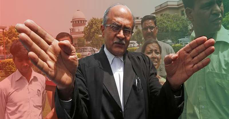 Prashant Bhushan Intra-Court Appeal