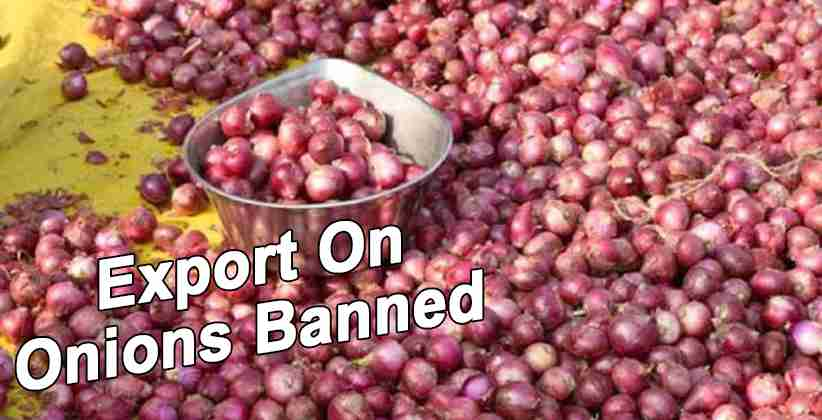 Export On Onions Banned