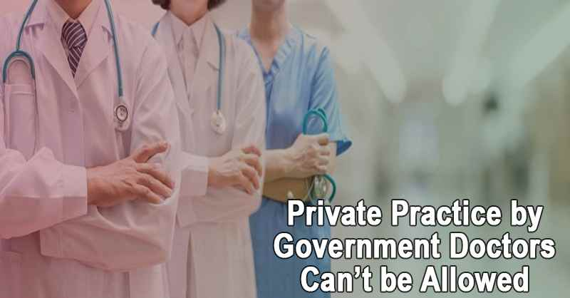 Private Practice by Government Doctors Can't be Allowed: J & K HC  [READ ORDER]