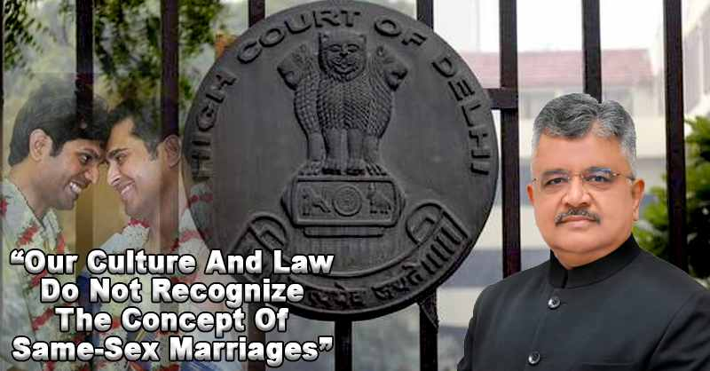 Same Sex Marriage Delhi High Court