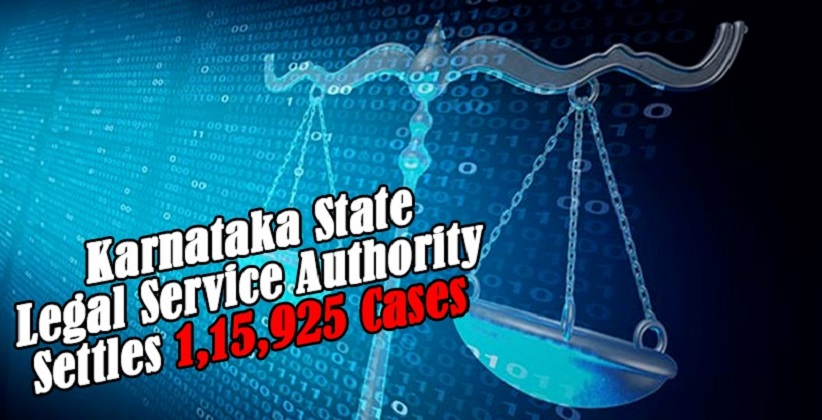 Karnataka State Legal Service Authority Settles 1,15,925 Cases via E-Lok Adalat
