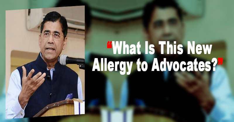 Advocate Arvind Datar Tribunal Rules