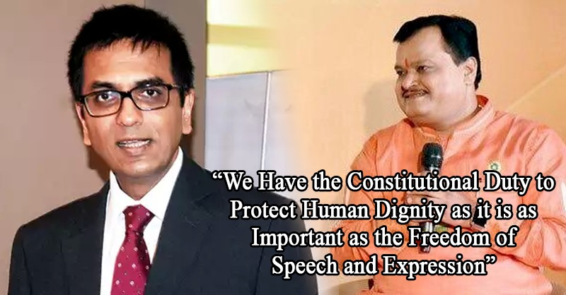 """We Have the Constitutional Duty to Protect Human Dignity as it is as Important as the Freedom of Speech and Expression"": Justice DY Chandrachud in Sudarshan TV Show Case"